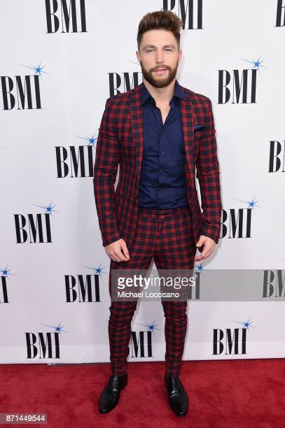 Singersongwriter Chris Lane attends the 65th Annual BMI Country awards on November 7 2017 in Nashville Tennessee