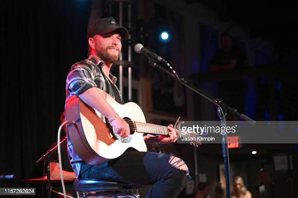 Singer/songwriter Chris Lane performs at 3rd and Lindsley on June 20 2019 in Nashville Tennessee