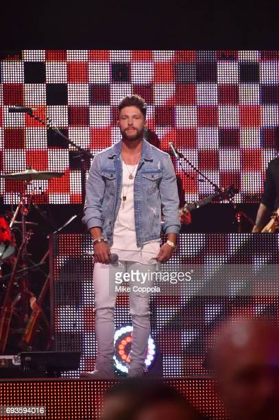 Singersongwriter Chris Lane performs onstage during the 2017 CMT Music Awards at the Music City Center on June 6 2017 in Nashville Tennessee