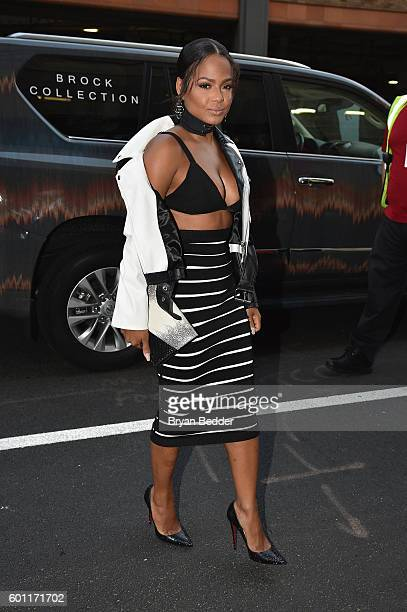 Singersongwriter Christina Milian at Lexus Lounge during New York Fashion Week The Shows September 2016 at The Gallery Skylight at Clarkson Sq on...
