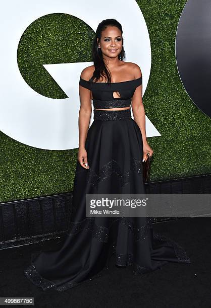 Singer/songwriter Christina Milian attends the GQ 20th Anniversary Men Of The Year Party at Chateau Marmont on December 3 2015 in Los Angeles...