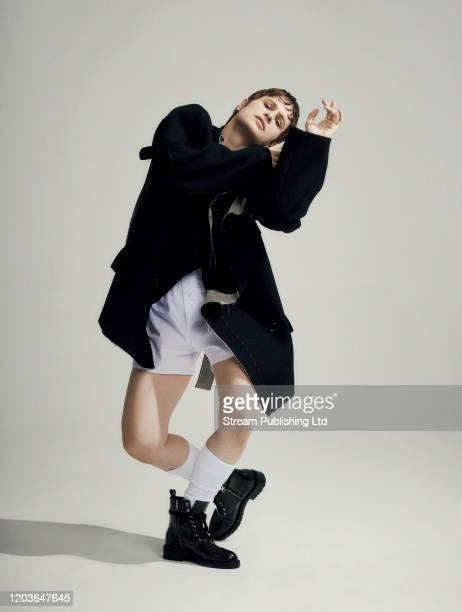 Singersongwriter Christine the Queens is photographed for Attitude magazine on September 12 2019 in London England