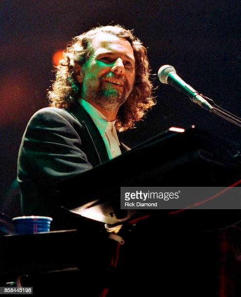 Singer/Songwriter Chuck Leavell performs with Eric Clapton at The OMNI Coliseum in Atlanta Georgia May 23 1995
