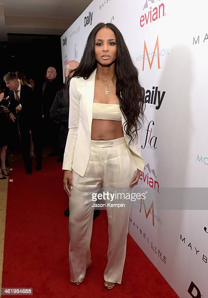 Singer/songwriter Ciara attends The DAILY FRONT ROW Fashion Los Angeles Awards Show at Sunset Tower on January 22 2015 in West Hollywood California