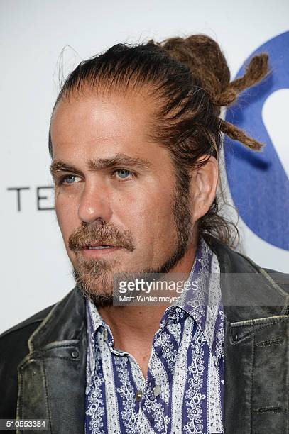 Singersongwriter Citizen Cope arrives at the Warner Music Group's celebration for the 58th annual Grammy Awards at Milk Studios on February 15 2016...