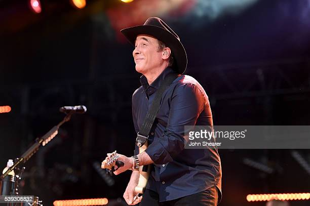 Singer-songwriter Clint Black performs onstage during 2016 CMA Festival - Day 2 at Nissan Stadium on June 10, 2016 in Nashville, Tennessee.