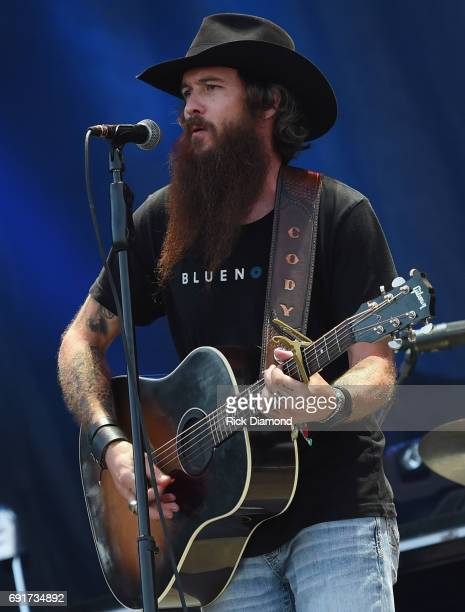 Singer/Songwriter Cody Jinks performs during Pepsi's Rock The South Festival Day 1 in Heritage Park on June 2 2017 in Cullman Alabama