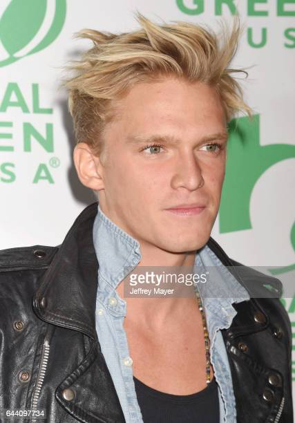 Singersongwriter Cody Simpson arrives at the 14th Annual Global Green PreOscar Gala at TAO Hollywood on February 22 2017 in Los Angeles California