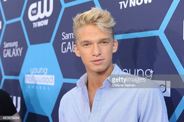 Singer/songwriter Cody Simpson attends the 2014 Young Hollywood Awards brought to you by Samsung Galaxy at The Wiltern on July 27 2014 in Los Angeles...