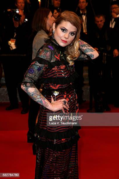 Singersongwriter Coeur de pirate attends the 'It's Only The End Of The World ' Premiere during the 69th annual Cannes Film Festival at the Palais des...