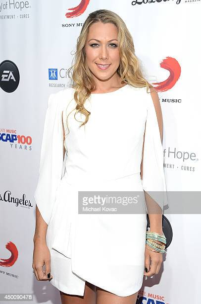 Singer/Songwriter Colbie Caillat arrives at City of Hope's 10th Anniversary Songs Of Hope on June 4 2014 in Brentwood California