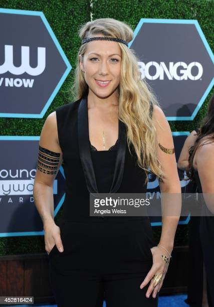 SingerSongwriter Colbie Caillat attends the 2014 Young Hollywood Awards brought to you by Samsung Galaxy at The Wiltern on July 27 2014 in Los...