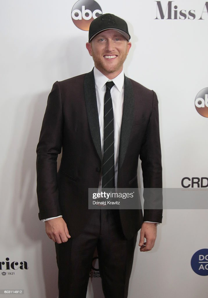 Singer-songwriter Cole Swindell attends the 2017 Miss America Competition - Red Carpet at Boardwalk Hall Arena on September 11, 2016 in Atlantic City, New Jersey.