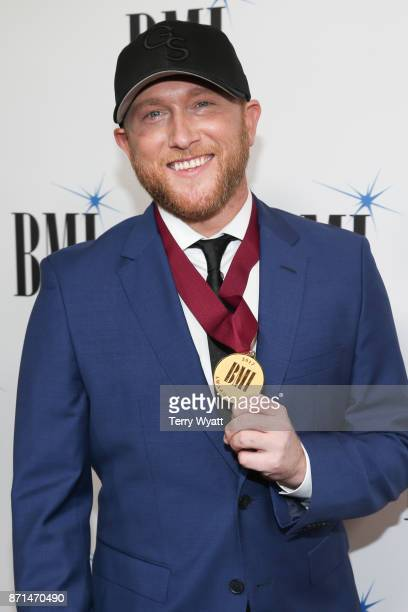 Singersongwriter Cole Swindell attends the 65th Annual BMI Country awards on November 7 2017 in Nashville Tennessee