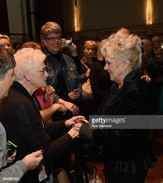Singer/Songwriter Connie Smith attend The Country Music Hall of Fame 2015 Medallion Ceremony at the Country Music Hall of Fame and Museum on October...