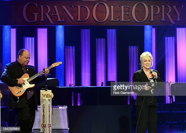 Singer/Songwriter Connie Smith performs at Darius Rucker's induction into The Grand Ole Opry on October 16 2012 in Nashville Tennessee