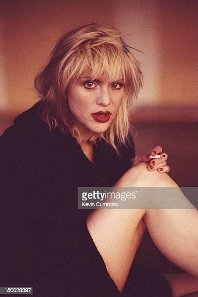 Singersongwriter Courtney Love of American alternative rock group Hole circa 1995