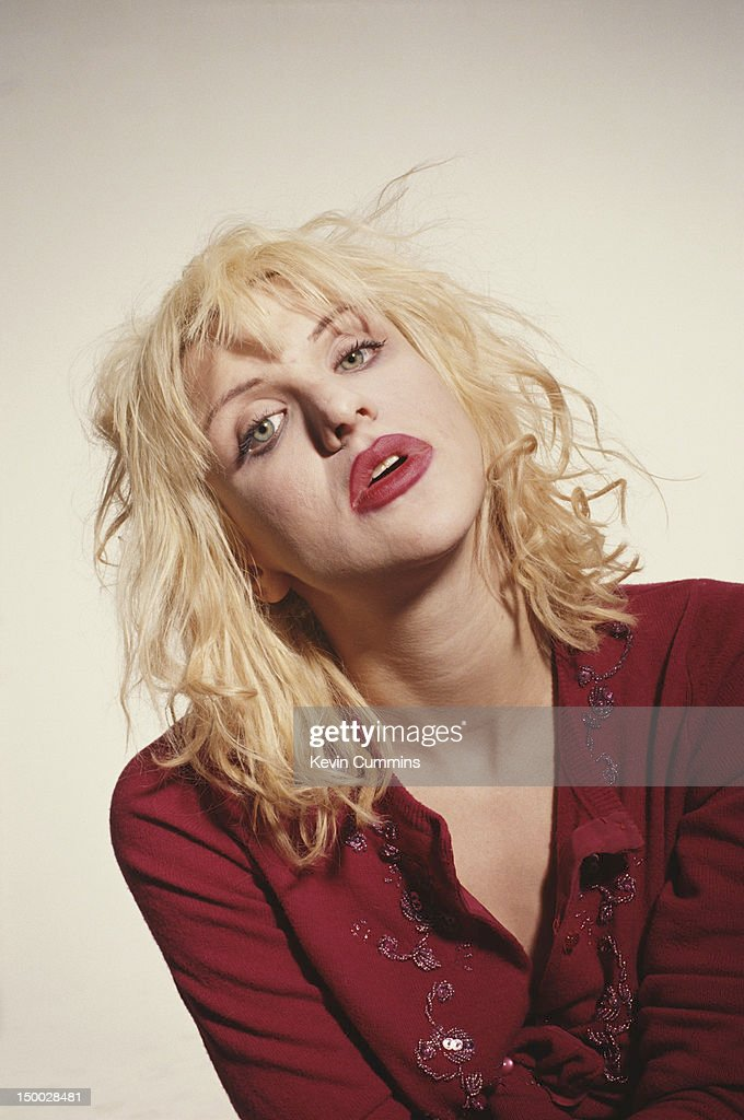 Singer-songwriter Courtney Love, of American alternative rock group Hole, circa 1994.