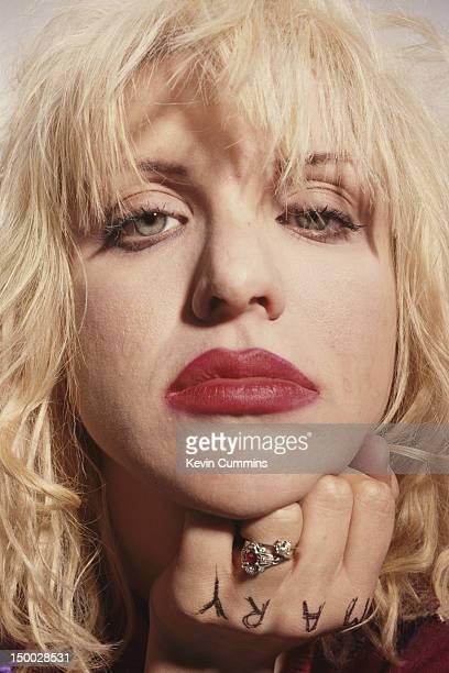 Singersongwriter Courtney Love of American alternative rock group Hole circa 1994