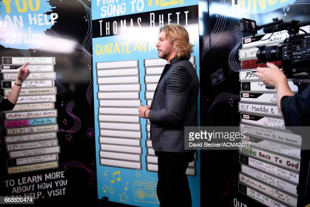 Singersongwriter Craig Wayne Boyd attends the 52nd Academy Of Country Music Awards Cumulus/Westwood One Radio Remotes at TMobile Arena on April 1...