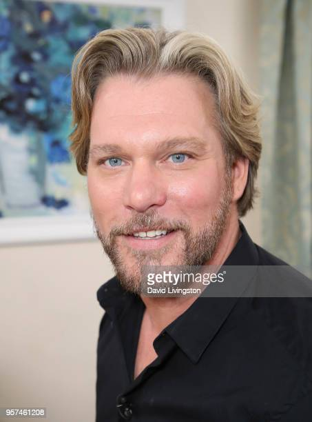 Singer/songwriter Craig Wayne Boyd visits Hallmark's Home Family at Universal Studios Hollywood on May 11 2018 in Universal City California