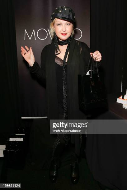 Singer/songwriter Cyndi Lauper attends The Official AMA Artist Gift Lounge presented by LPB Group at Nokia Theatre LA Live on November 17 2012 in Los...