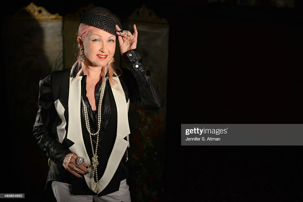 Cyndi Lauper, Boston Globe, August 8, 2015