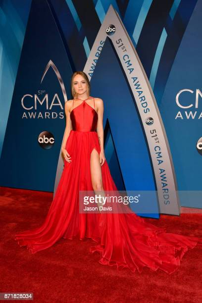 Singersongwriter Danielle Bradbery attends the 51st annual CMA Awards at the Bridgestone Arena on November 8 2017 in Nashville Tennessee