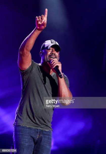 Singersongwriter Darius Rucker performs during day 4 of the 2017 CMA Music Festival on June 11 2017 in Nashville Tennessee
