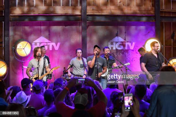 Singersongwriter Darius Rucker performs onstage at the HGTV Lodge during CMA Music Fest on June 11 2017 in Nashville Tennessee