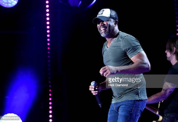 Singersongwriter Darius Rucker performs onstage during day 4 of the 2017 CMA Music Festival on June 11 2017 in Nashville Tennessee