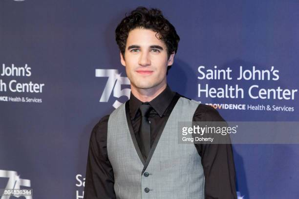 Singersongwriter Darren Criss attends the Saint John's Health Center Foundation's 75th Anniversary Gala Celebration at 3LABS on October 21 2017 in...