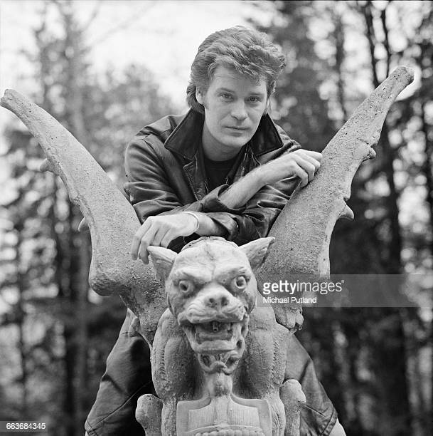 Singersongwriter Daryl Hall of American pop duo Hall and Oates Upstate New York February 1983