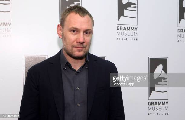Singersongwriter David Gray at An Evening With David Gray at The GRAMMY Museum on September 2 2014 in Los Angeles California