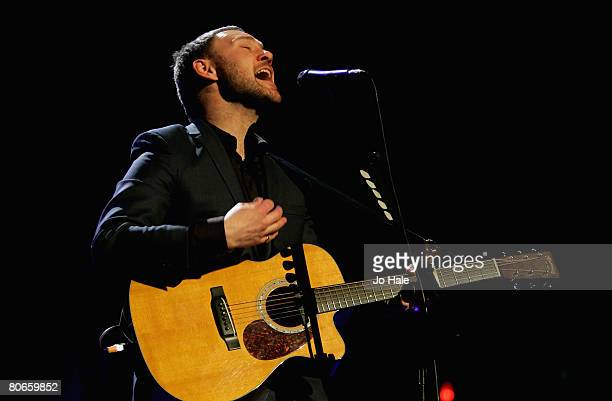 Singer/songwriter David Gray performs during the sixth and final night of a series of concerts and events in aid of Teenage Cancer Trust organised by...