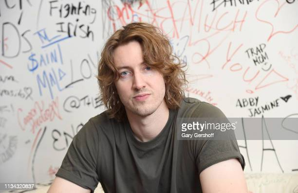 Singer/songwriter Dean Lewis visits Music Choice on March 07 2019 in New York City