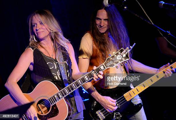 Singer/Songwriter Deana Carter performs at The Basement on May 21 2014 in Nashville Tennessee