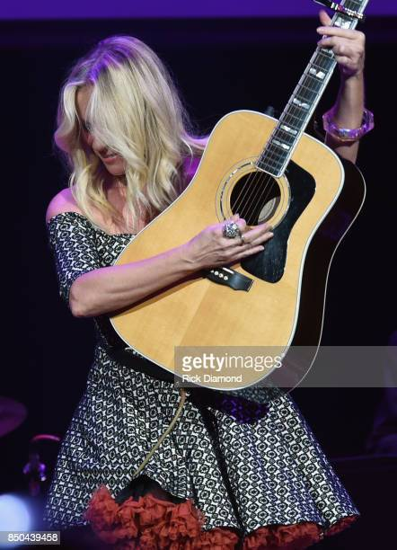Singer/Songwriter Deana Carter performs during NSAI 50 Years of Songs at Ryman Auditorium on September 20 2017 in Nashville Tennessee