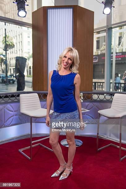 Singer/songwriter Debbie Gibson attends 'Rachel Leigh Cook and Billy Zane Visit Hollywood Today Live' at W Hollywood on August 19 2016 in Hollywood...