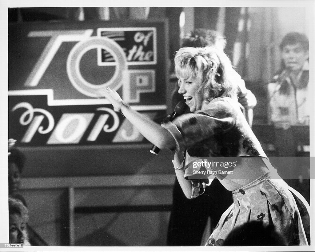 Singer/songwriter Debbie Gibson performs on 'Top Of The Pops' TV Show in Los Angeles, California in 1987.