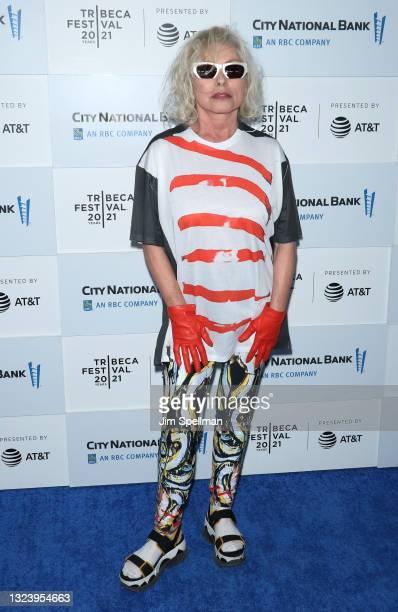 "Singer/songwriter Debbie Harry attends ""Blondie: Vivir En La Habana"" during the 2021 Tribeca Festival at The Battery on June 16, 2021 in New York..."