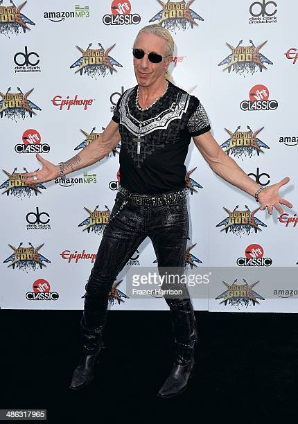 SingerSongwriter Dee Snider attends the 6th Annual Revolver Golden Gods Award Show at Club Nokia on April 23 2014 in Los Angeles California