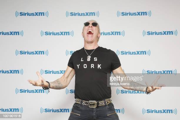 Singersongwriter Dee Snider visits SiriusXM Studios on July 19 2018 in New York City