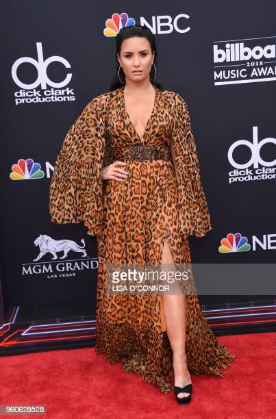 Singer/songwriter Demi Lovato attends the 2018 Billboard Music Awards 2018 at the MGM Grand Resort International on May 20 2018 in Las Vegas Nevada