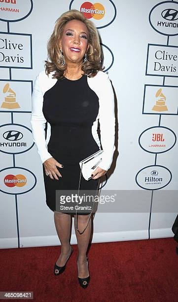 Singer/songwriter Denise Rich attends the 56th annual GRAMMY Awards PreGRAMMY Gala and Salute to Industry Icons honoring Lucian Grainge at The...