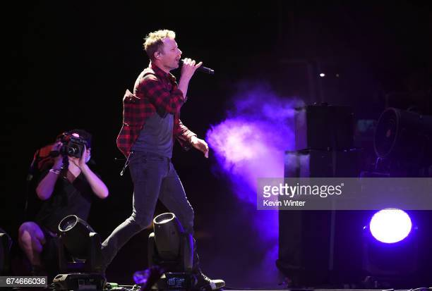 Singer/Songwriter Dierks Bentley performs on the Toyota Mane Stage during day 1 of 2017 Stagecoach California's Country Music Festival at the Empire...