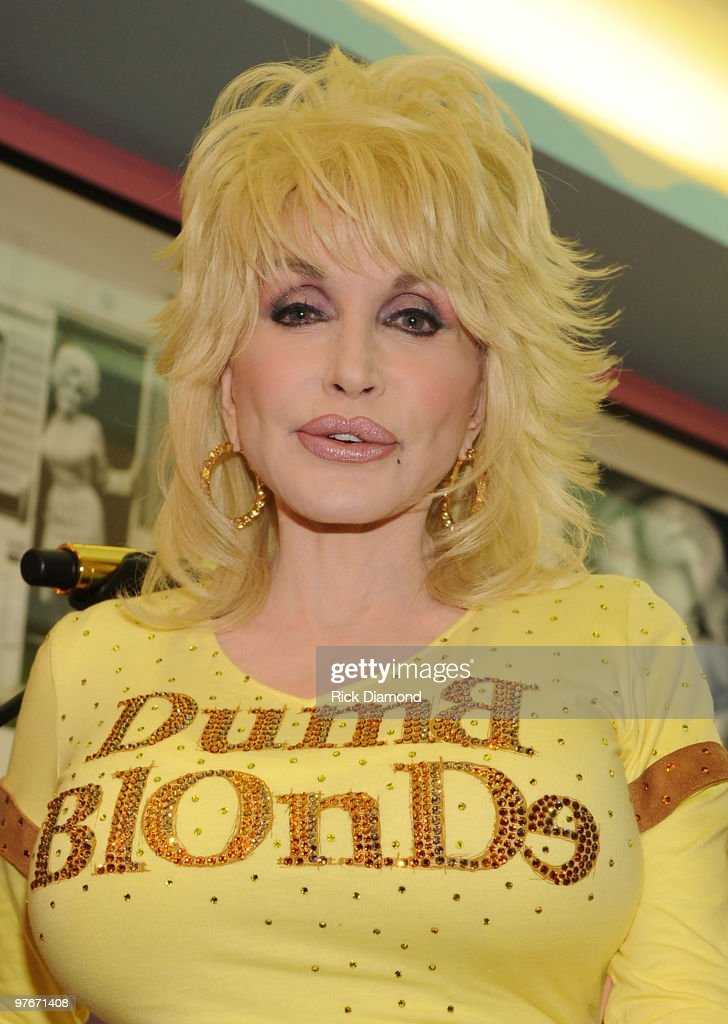 Singer-songwriter Dolly Parton attends Dolly Parton's Trinkets & Treasures grand opening at Dolly Parton's Trinkets & Treasures on March 12, 2010 in Nashville, Tennessee.