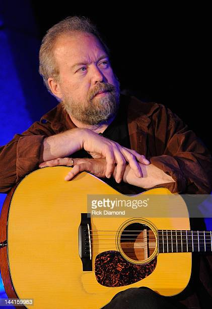 Singer/Songwriter Don Schlitz performs at the Country Music Hall Of Fame And Museum's in the Ford Theater as part of Kenny's ArtistinResidence on May...