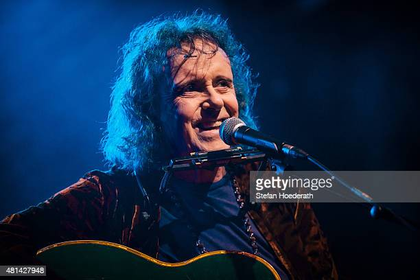 Singersongwriter Donovan performs live on stage during a concert at Schwuz on July 20 2015 in Berlin Germany
