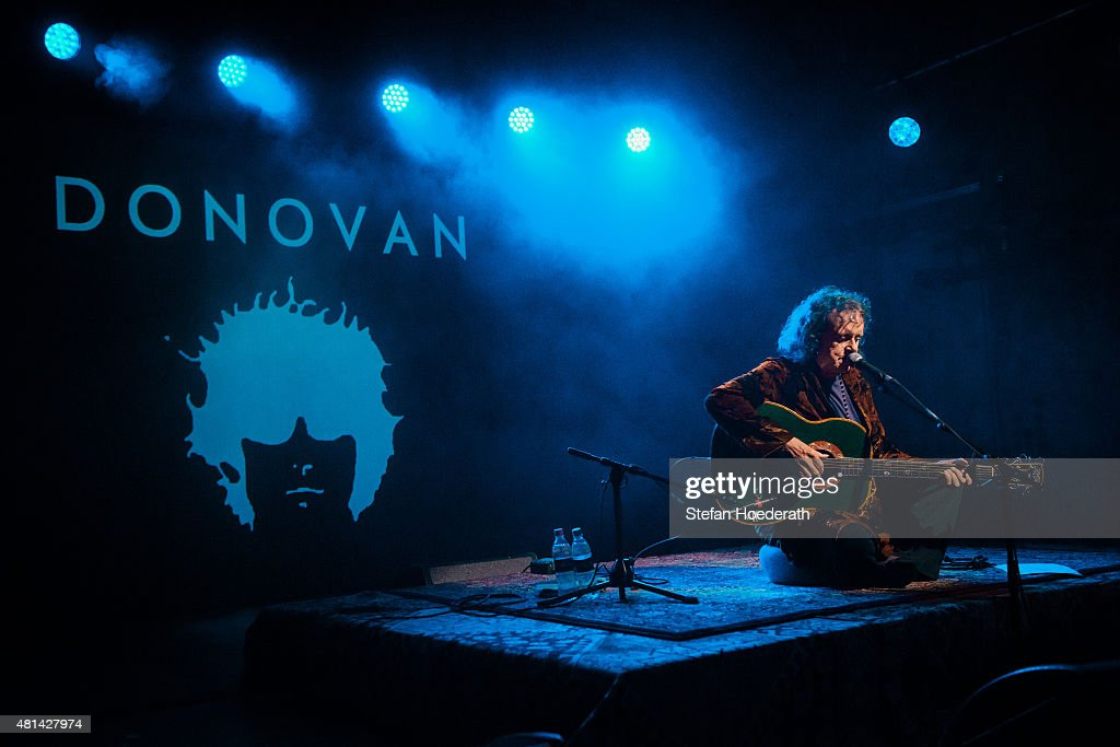 Donovan Performs In Berlin